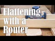 How to: Flatten and Thickness Large Slabs of Wood with a DIY Router Bridge Planer | Man Made DIY | Crafts for Men | Keywords: woodworking, how-to, router, diy