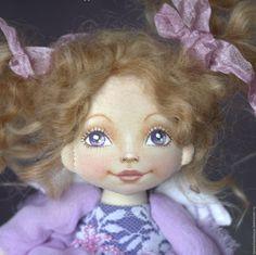 Купить Ангелочек-милашка. Кукла текстильная интерьерная. - белый, подарок девушке, подарок женщине