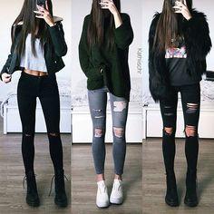 Which one?? Credit @kathiischr Follow @Dresscode_Fashion #dresscode #dresscode_fashion #dress #dresses #outfit #fashion #ootd