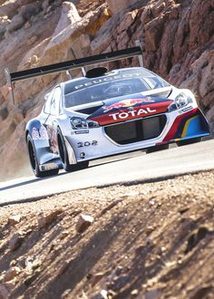 Peugeot 208 T16 Pikes Peak hillclimb car - Sébastien Loeb destroyed the course record!