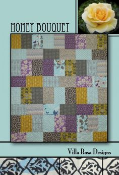 Honey Bouquet Pattern Only VRD807481