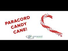 Survival Paracord Bracelet - How to - Candy Cane Style - BoredParacord - YouTube