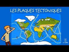 Tectonique Des Plaques, Teaching Geography, Science, Youtube, Nature, Volcanoes, Earth, Knowledge, History