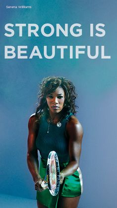 Serena Williams  The only non-basketball star in this folder. Just as powerful...