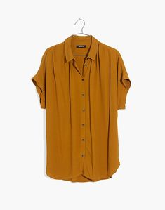 Central Drapey Shirt in egyptian gold image 4 Classy Outfits, Cool Outfits, Fashion Outfits, Fashion 2016, Street Fashion, Casual Outfits, Tall Men Fashion, Mens Fashion, Jean Skirt Outfits