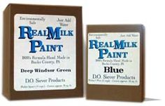 Environmentally Friendly Real Milk Paint - non toxic, 100% organic materials. Mix pigment powders to create a variety of hues.