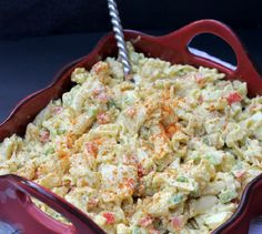 Deviled Egg Macaroni Pasta Salad - - We compiled a list of 67 of the best pasta salad recipes around the web. | Savorystyle.com