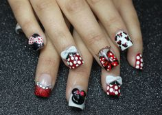 Finger Painted: The One With The Minnie Mouse Nails!