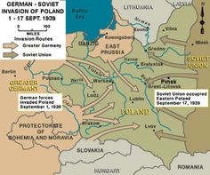 , German forces invaded Poland from the north, south, and west. As the Germans advanced, Polish forces withdrew from their forward bases of operation close to the Polish–German border to more established lines of defense to the east. Poland Ww2, Invasion Of Poland, Brest Litovsk, Danzig, World War Ii, Wwii, Germany, Maps, Cycle 3