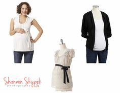What to wear for a maternity photo shoot
