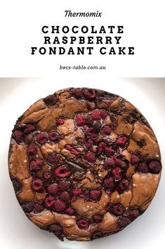 This is a pastry chef recipe that's easily made in the Thermomix. This is definitely an impressive dessert. Chocolate Butter, Chocolate Desserts, Decadent Chocolate, Chocolate Decorations, Chocolate Fudge, Chef Recipes, Sweet Recipes, Dessert Recipes, Potluck Recipes