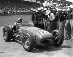 Bill Vukovich - 1953 Kurtis Kraft-Offenhauser