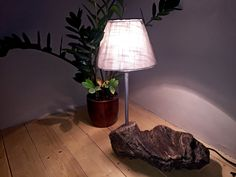 Table lamp by HolzDinge on Etsy