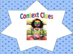 Classroom Magic: Teaching Context Clues FREEBIE and link to free online version of Bad Case of Stripes Reading Lessons, Reading Skills, Teaching Reading, Reading Strategies, Reading Activities, Reading Resources, Reading Books, Reading Comprehension, Learning