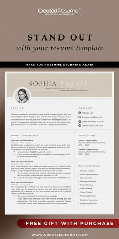 Outstanding professional resume template that will help to get the job of your dreams faster! Easy to customize on Word and Apple Pages. Designed by an experienced CreatedResume team these resume templates will catch an eye and help you outstand from the others. #resume #resumetemplate #modernresume #resumeformat #resumedesign #resumetips #createdresume #cv #cvtemplate Resume Format Examples, Good Resume Examples, Modern Resume Template, Resume Templates, Functional Resume, Executive Resume, Microsoft Word 2007, Manager Resume, Creative Resume