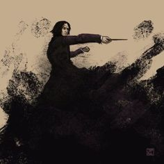 Severus by chromageist Snape And Hermione, Professor Severus Snape, Harry Potter Severus Snape, Severus Rogue, Harry Potter Hogwarts, Harry Potter Portraits, Harry Potter Artwork, Harry Potter Characters, Slytherin House