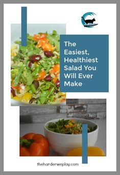 Healthy salad, quino