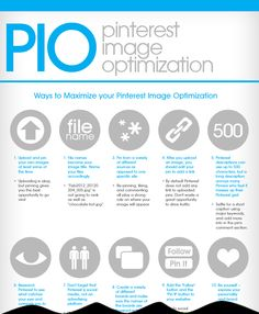 Pinterest Image Optimization Infographic Snap Shot (see full version: http://plw.me/XsZMkY)