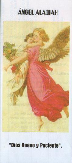 Pertenece al coro de los querubines. Su planeta regente es Urano y su signo astral es Tauro. Aladiah simboliza la tolerancia y la clarid... Birth, Painting, Angels, Cherubs, Taurus, Drive Way, Spirituality, Painting Art, Births