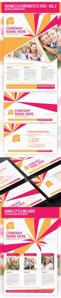 Business & Corporate Flyer PSD Templates