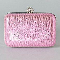 9c085189b6 pink sequin clutch Pochette Rosa, Lustrini Rosa, Porta Monete, Pochette