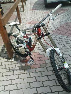 Hungaryan Downhill Champion bike