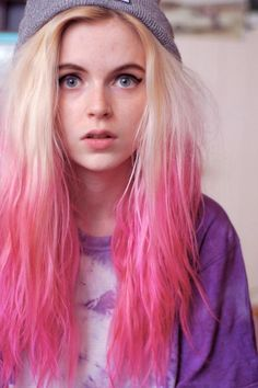 Awesome Pink Hair :)