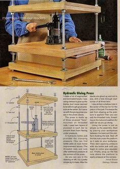 #2388 DIY Segmented Bowl Press - Woodturning
