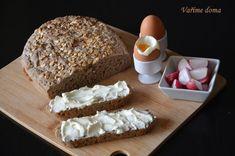 domácí žitný chléb z kvásku Banana Bread, Dairy, Food, Essen, Meals, Yemek, Eten