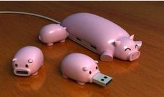 Obviously we only ever use these USBs at Truffle... via @Benjamin Brassett