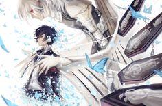 Persona 3 - Makoto Yuuki and Messiah by avodkabottle Persona 5 Joker, Persona 4, Shin Megami Tensei Persona, Kawaii Chibi, Manga Anime, Anime Boys, Game Art, Cool Art, Character Design