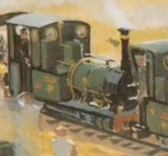 Dolgoch - Talyllyn Railway No. 2 - Dolgoch is Rheneas's twin, and because of this he was mentioned multiple times in the Railway Series. Twin Boys, Twin Brothers, Well Tank, Thomas The Tank, Thomas And Friends, Twins, Style, Swag, Toddler Twins