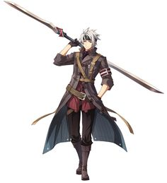 Crow Armbrust from The Legend of Heroes: Trails of Cold Steel II