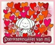 Love & hug Quotes : I love you. Jabbertje quote - Quotes Sayings Hug Quotes, Dutch Quotes, I Love You, My Love, Love Hug, Christmas Wishes, Cute Cards, Friendship Quotes, Happy Valentines Day