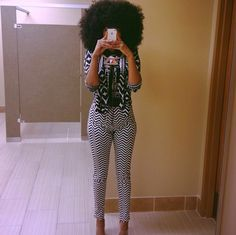 Style: Chenoia in Alabama | Black Girl with Long Hair