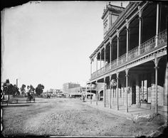 City Family Hotel in Bendigo, Victoria (year unknown).