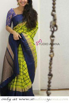Cutwork Saree, Khadi Saree, Silk Saree Kanchipuram, Organza Saree, Cotton Saree, New Saree Blouse Designs, Kurti Neck Designs, Bridal Blouse Designs, Saree Dress