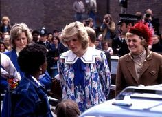 May 24, 1984: Diana visits the Albany Community Centre, Deptford, SE London