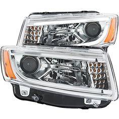 Anzo Jeep Grand Cherokee Projector Headlight Set