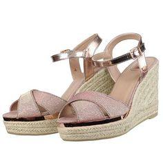 Γυναικεία :: Πλατφόρμες :: TOM TAILOR 279530200 Ρόζ/χρυσό - Παπούτσια Ι troumpoukis.gr
