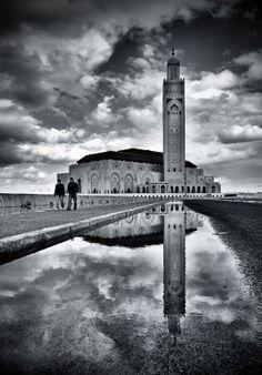 "500px / Photo ""* Casablanca, mosque Hassan ll *"" by clement jousse"
