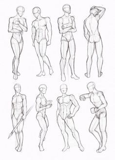 male standing poses drawing - Cerca con Google: