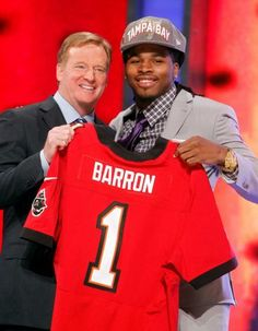 Mark Barron 2012 class... Tampa Bay Buccaneers