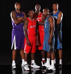 First team to have 5 first-round draft picks.  Demarcus Cousins, Eric Bledsoe, Patrick Patterson, John Wall, Daniel Orton.