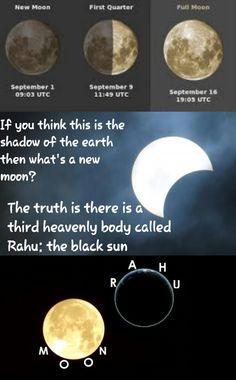 Rahu: the BLACK SUN