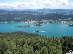 Klagenfurt, Austria. This is where I came every Wednesday for 3 years from Vienna for my violin lessons with the renowned teacher Prof Helfried Fister. Coming back on the night train, if the rear carriages were empty I could practise for several hours on the way home.