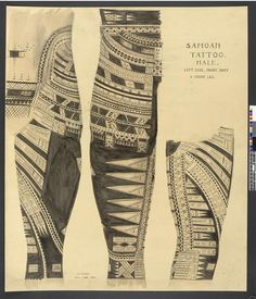 """Taouage Samoan"". Royaume-Uni, Londres, British Museum - Diffusion en Europe sauf Royaume-Uni et Irlande. Photo (C) The British Museum, Londres, Dist. RMN-Grand Palais / The Trustees of the British Museum"