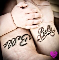 child name tattoo designs