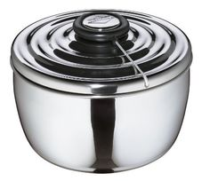 Kuchenprofi Salad Spinner, 9.5 In. by Kuchenprofi. $71.36. Stainless Steel. Includes colander, bowl, cover with cable technology. Salad Spinner, 104 fl. ooz., 9.5 in.. Clean and spin dry your favorite salad greens with the Kuchenprofi Stainless Steel Salad Spinner.