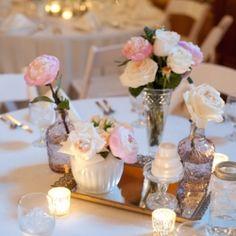 A pink, purple and white wedding full of vintage, elegant details!